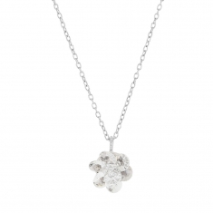 Collier Collection Cristal en argent rhodié 925/1000 et Swarovski Elements